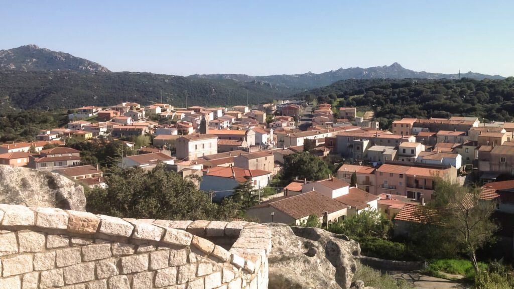 vista dal belvedere Lu Naracu Sant Antonio di Gallura